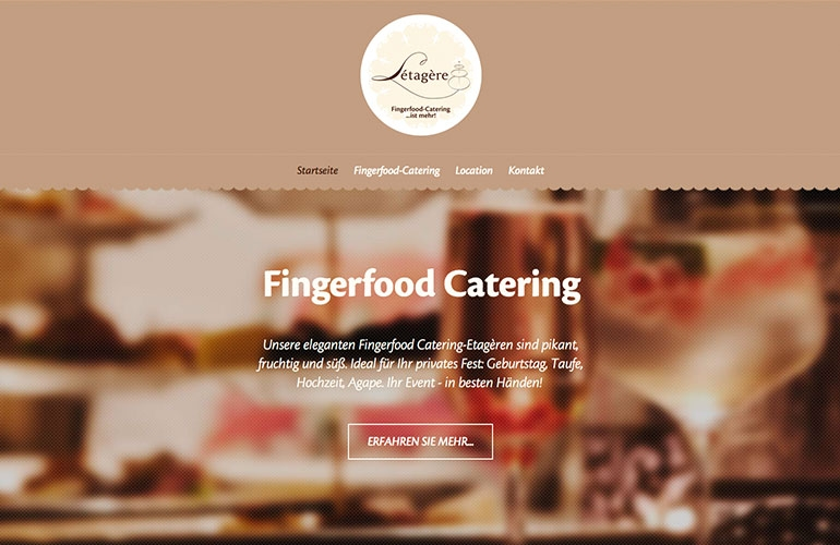 Referenz - Letragere, Fingerfood Catering